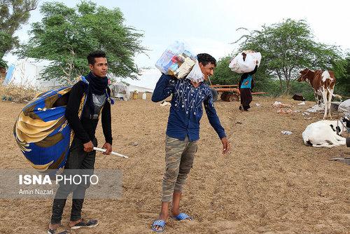 مردم سیلزده روستای خسرج حمیدیه ۳ هفته بعد از سیل (عکس) - 5