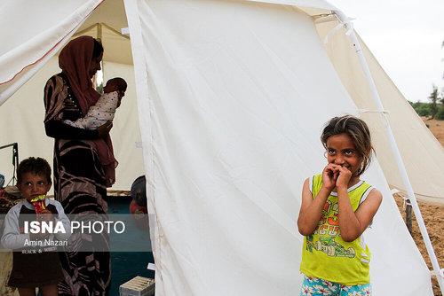 مردم سیلزده روستای خسرج حمیدیه ۳ هفته بعد از سیل (عکس) - 7