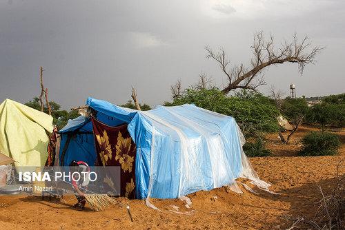 مردم سیلزده روستای خسرج حمیدیه ۳ هفته بعد از سیل (عکس) - 8