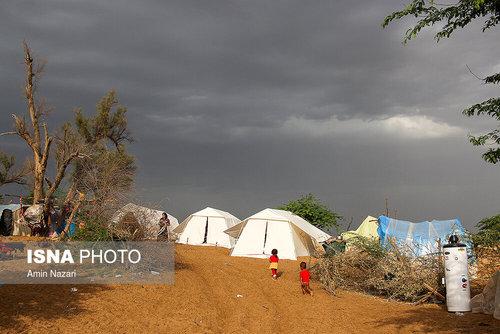 مردم سیلزده روستای خسرج حمیدیه ۳ هفته بعد از سیل (عکس) - 9
