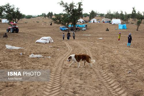 مردم سیلزده روستای خسرج حمیدیه ۳ هفته بعد از سیل (عکس) - 11
