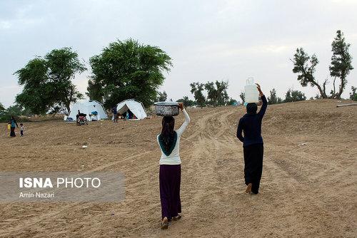 مردم سیلزده روستای خسرج حمیدیه ۳ هفته بعد از سیل (عکس) - 15