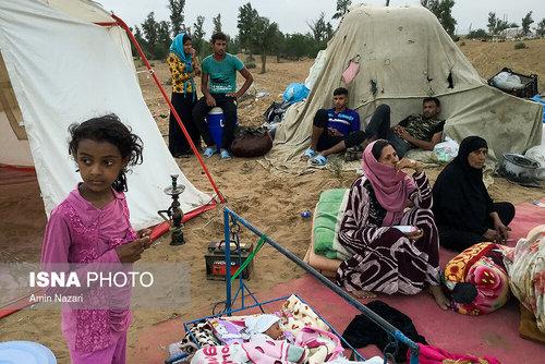 مردم سیلزده روستای خسرج حمیدیه ۳ هفته بعد از سیل (عکس) - 22