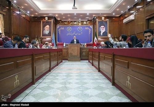 اولین نشست خبری سخنگوی جدید قوه قضائیه (عکس) - 3
