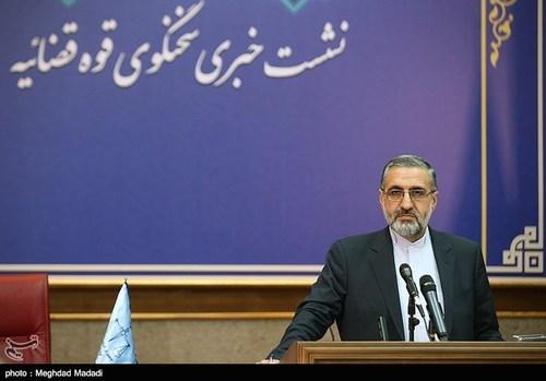 اولین نشست خبری سخنگوی جدید قوه قضائیه (عکس) - 7