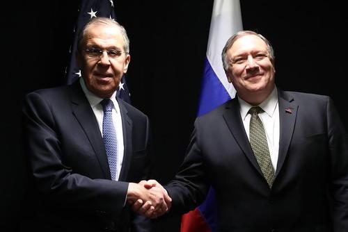 وزرای خارجه ایالات متحده آمریکا و روسیه دیروز در حاشیه یازدهمین نشست وزارتی