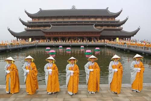 معبدی در ویتنام /EPA
