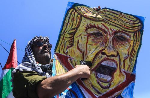 مراسم هفتادویکمین سالروز نکبت – فلسطینیها به سالروز تاسیس رژیم اسراییل روز نکبت میگویند- در نوار غزه/ قدس نت