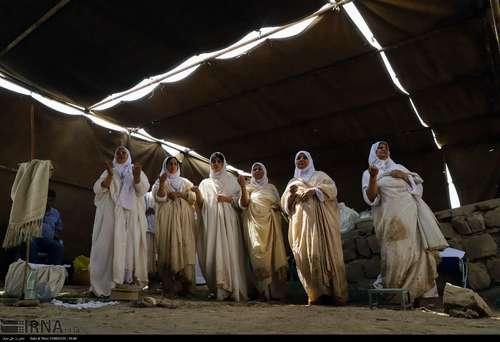 تصاویر/ مراسم «دخرانی» صائبین مندایی در اهواز