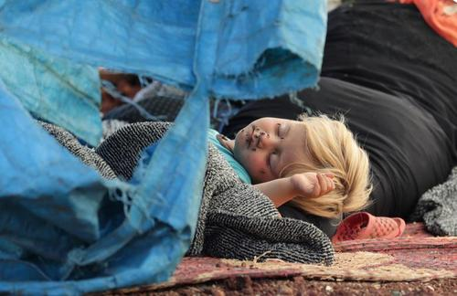 اردوگاه آوارگان جنگی در استان
