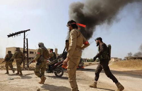 شبه نظامیان مخالف حکومت سوریه در استان