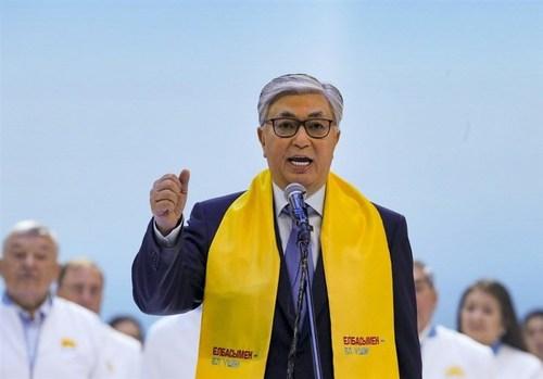 قاسم توقایف رییس جمهوری منتخب قزاقستان