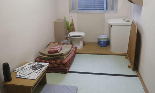 یک سلول زندان در شهر توکیو ژاپن/ آسوشیتدپرس