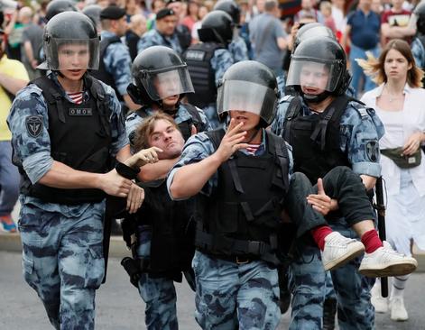 تظاهرات علیه دستگیری