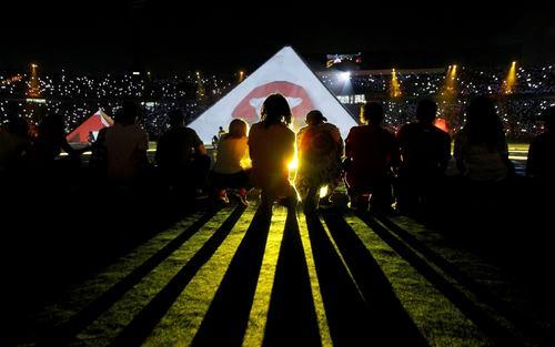مراسم افتتاحیه مسابقات فوتبال جام ملتهای آفریقا در استادیوم شهر قاهره/ رویترز