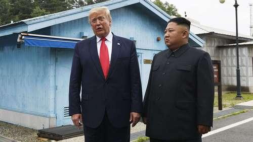 سومین شو تلویزیونی ترامپ با رهبر کره شمالی این بار در منطقه مرزی دو کره/ عکسها: آسوشیتدپرس
