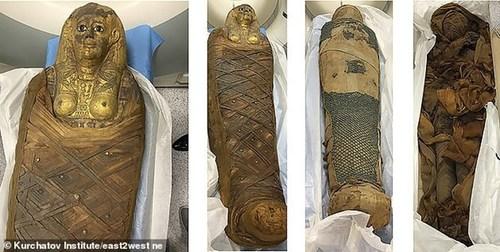 کشف موهای 3000 ساله 3 مومیایی (+عکس)