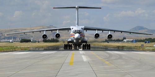 ورود پنجمین هواپیمای روسی حامل قطعات سیستم دفاع ضد موشکی