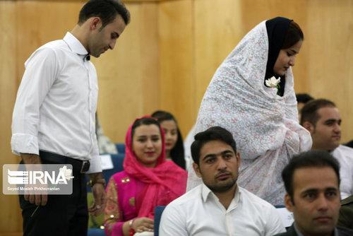 جشن ازدواج 122 زوج دانشجو (عکس)