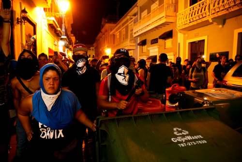 تظاهرات ضددولتی در پورتوریکو/ گتی ایمجز