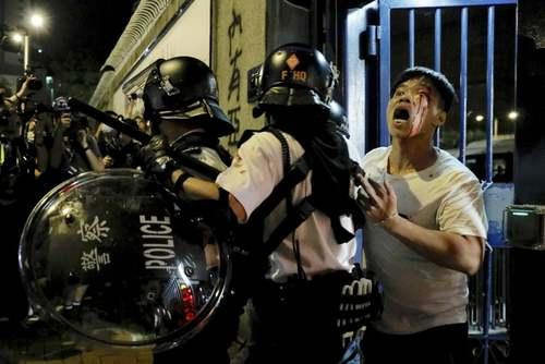 ادامه تظاهرات بر ضد چین در هنگکنگ/ آسوشیتدپرس