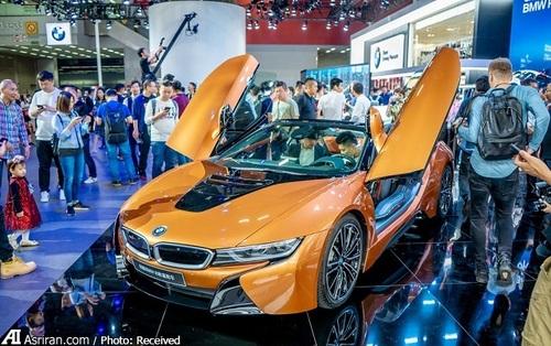 آی8 رودستر در نمایشگاه خودروی گوانگژو به نمایش گذاشته شده است.