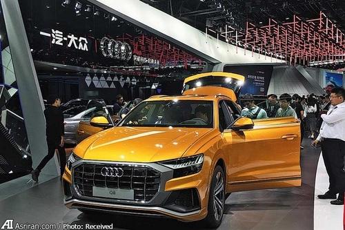 نمایش آئودی کیو8 در نمایشگاه خودروی گوانگژو، چین