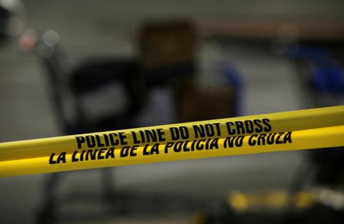 پلیس در اولین اقدام خود محوطه را قرنطینه کرد/ تگزاس/ رویترز