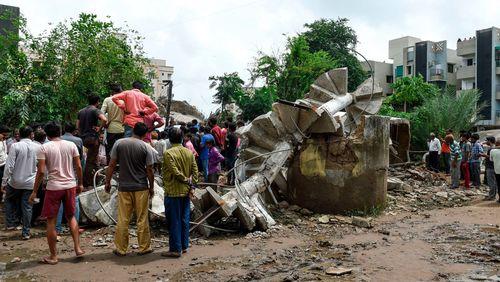 بسیاری از زیرساختها در مناطقی از هند نابود شده است./ هندوستان نیوز