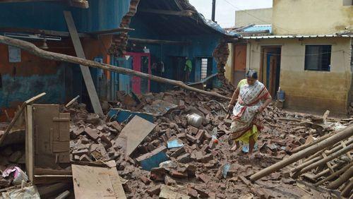 بسیاری از خانهها در این مناطق تخریب شده و قابل سکونت نیست/ نیشن نیوز