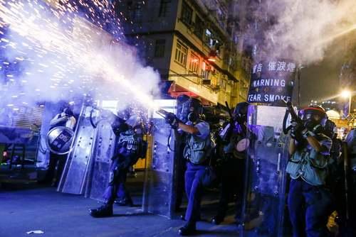 تظاهرات بر ضد چین در هنگکنگ/ رویترز