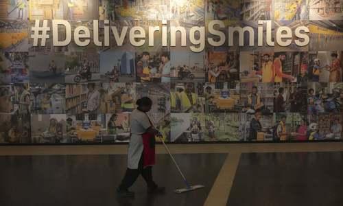 شعبه جدید شرکت آمازون در شهر حیدرآباد هند/ آسوشیتدپرس