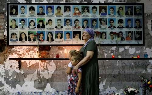 پانزدهمین سالگرد حمله تروریستی سال 2004 به مدرسهای در شهر