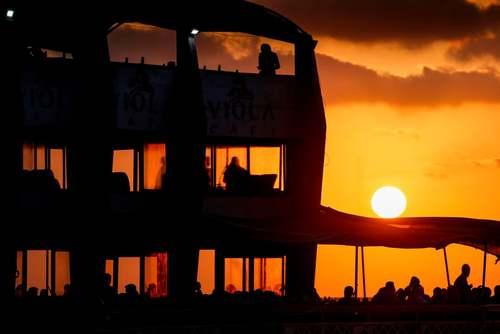 رستوران ساحلی در نوار غزه/ خبرگزاری فرانسه