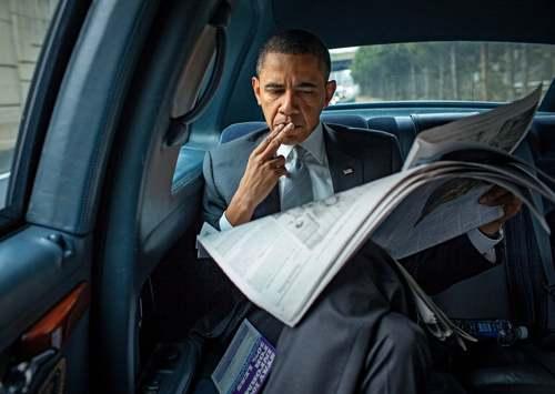 19 ژانویه 2010   اوباما که حالا چهل و چهارمین رییس جمهوری آمریکاست در داخل
