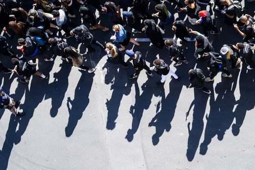 تظاهرات در مقابل پارلمان آفریقای جنوبی در شهر