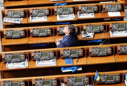 پارلمان اوکراین/ رویترز