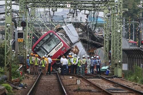 تصادف قطار در