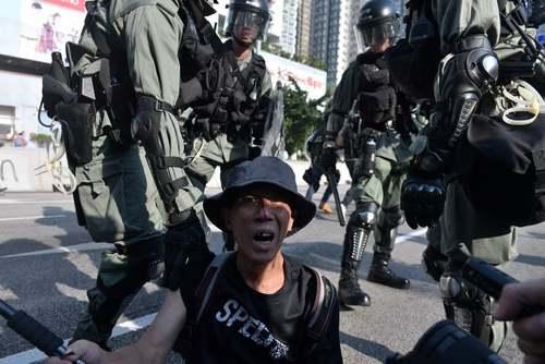 تظاهرات هنگ کنگ/ خبرگزاری فرانسه