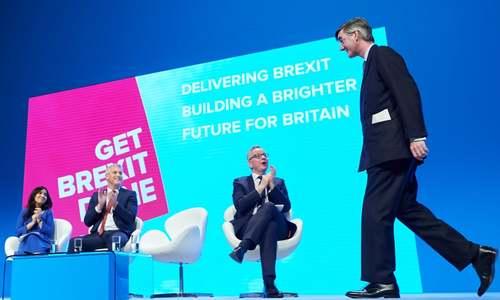 کنفرانس حزب محافظه کار بریتانیا در شهر منچستر/ گاردین