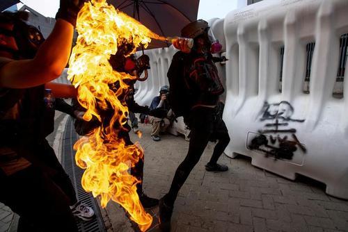 ادامه تظاهرات ضد حکومتی در هنگ کنگ/ رویترز