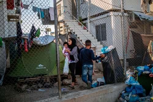 کمپ پناهجویان