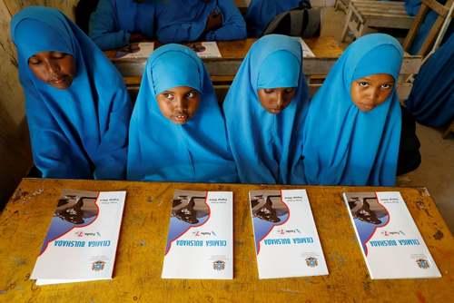 مدرسه ابتدایی در شهر موگادیشو سومالی/ رویترز