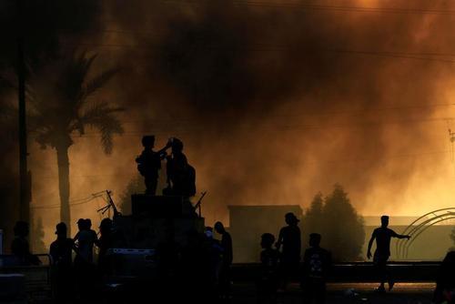 اعتراضات سراسری ضد حکومتی در عراق/ بغداد/ رویترز