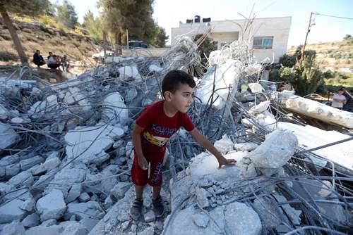 تخریب خانه فلسطینی در منطقه