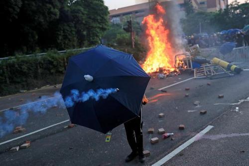تظاهرات در هنگ کنگ/ رویترز و گتی ایمجز