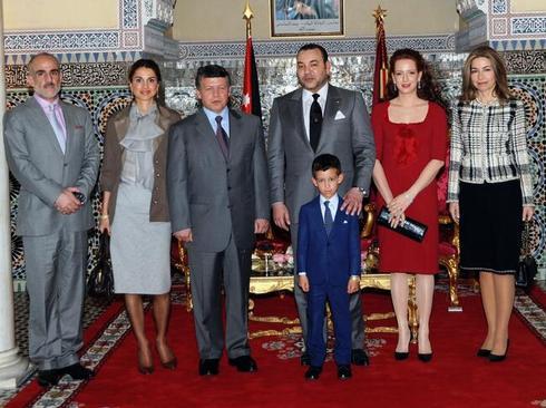 resized 1023967 627 - مفقود شدن 2 ساله ملکه سرخ موی مراکش (+عکس)