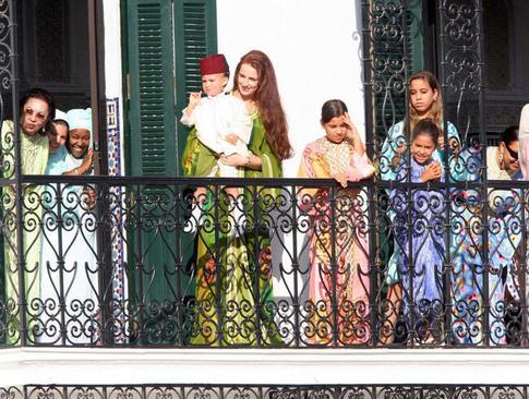 resized 1023968 709 - مفقود شدن 2 ساله ملکه سرخ موی مراکش (+عکس)