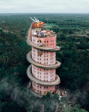 معبد اژدها، تایلند
