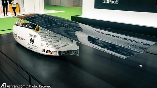 خودروی خورشیدی ساشیمی